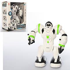 Робот 27106(Light-Green) 21см, муз, свет, ходит, подвижные детали