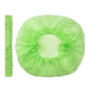 Одноразова шапочка 100 шт Зелений