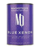 Пудра тонирующая и кондиционирующая для осветления волос Magnetique Blue Xenon 500 г
