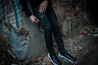 Теплые штаны мужские спортивные Conqueror Intruder черные