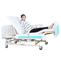 Медичне функціональне електроліжко з туалетом E36. Широке ліжко для інваліда. Ліжко для реабілітації., фото 3