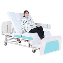 Медичне функціональне електроліжко з туалетом E36. Широке ліжко для інваліда. Ліжко для реабілітації., фото 2