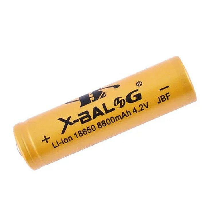 Мощный аккумулятор X-Balog BL-18650 Li-ion 8800 mAh