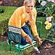 Комплект: Туристический гамак с москитной сеткой + Лавочка-подставка садовая для дачи (стульчик для огорода), фото 6
