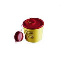 Контейнер для сбора и утилизации игл и медицинских отходов, автоклавируемый, 5 л.
