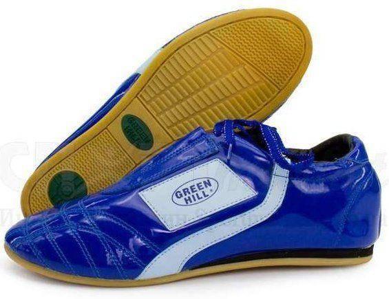 "Туфли для таэквандо ""tws-3003"" Green Hill (синие)"