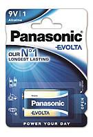 Батарейка Panasonic Evolta 6LR61 1 шт
