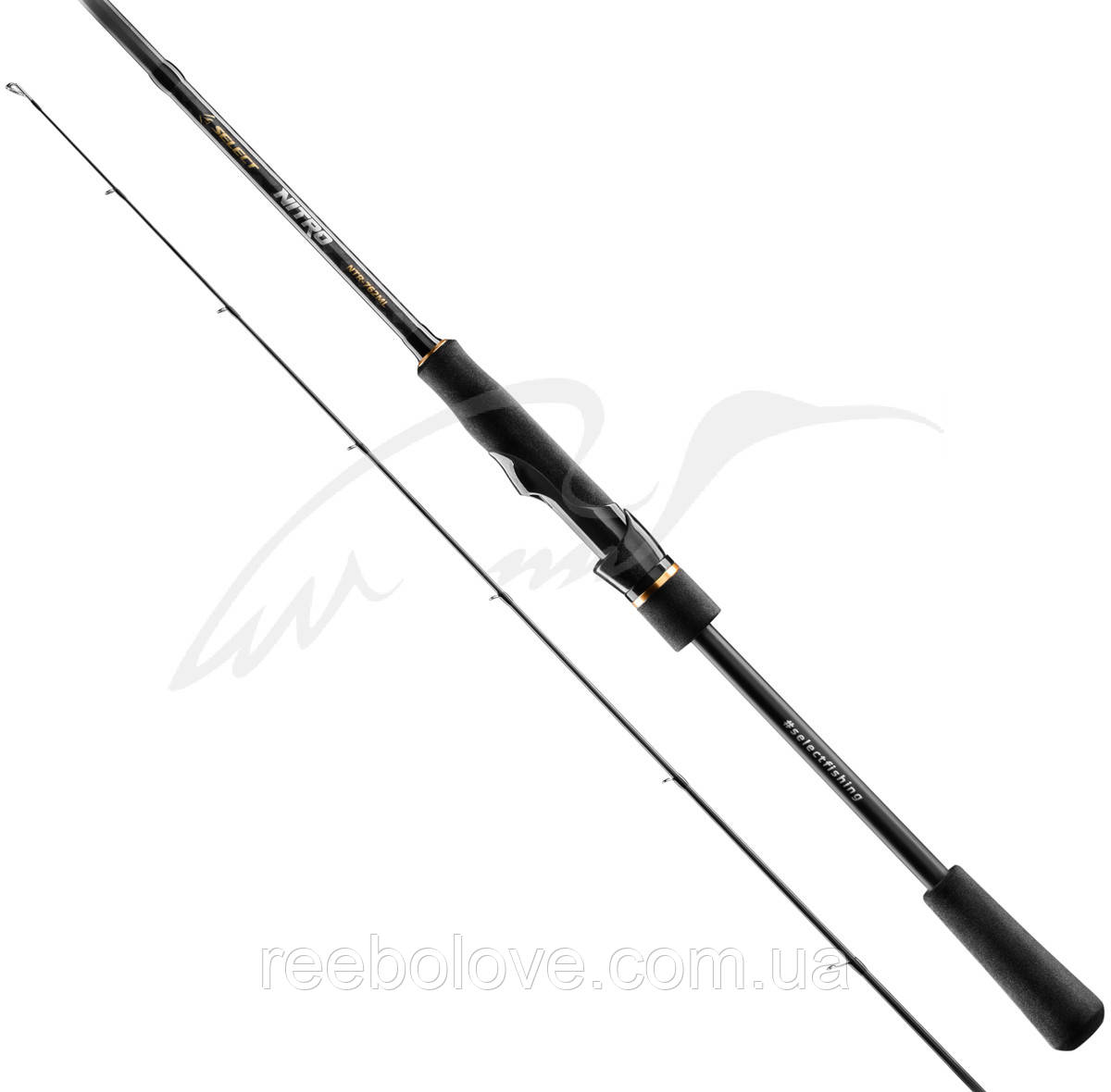 Спінінг Select Nitro NTR-662MH 1.98 m 7-28g Fast