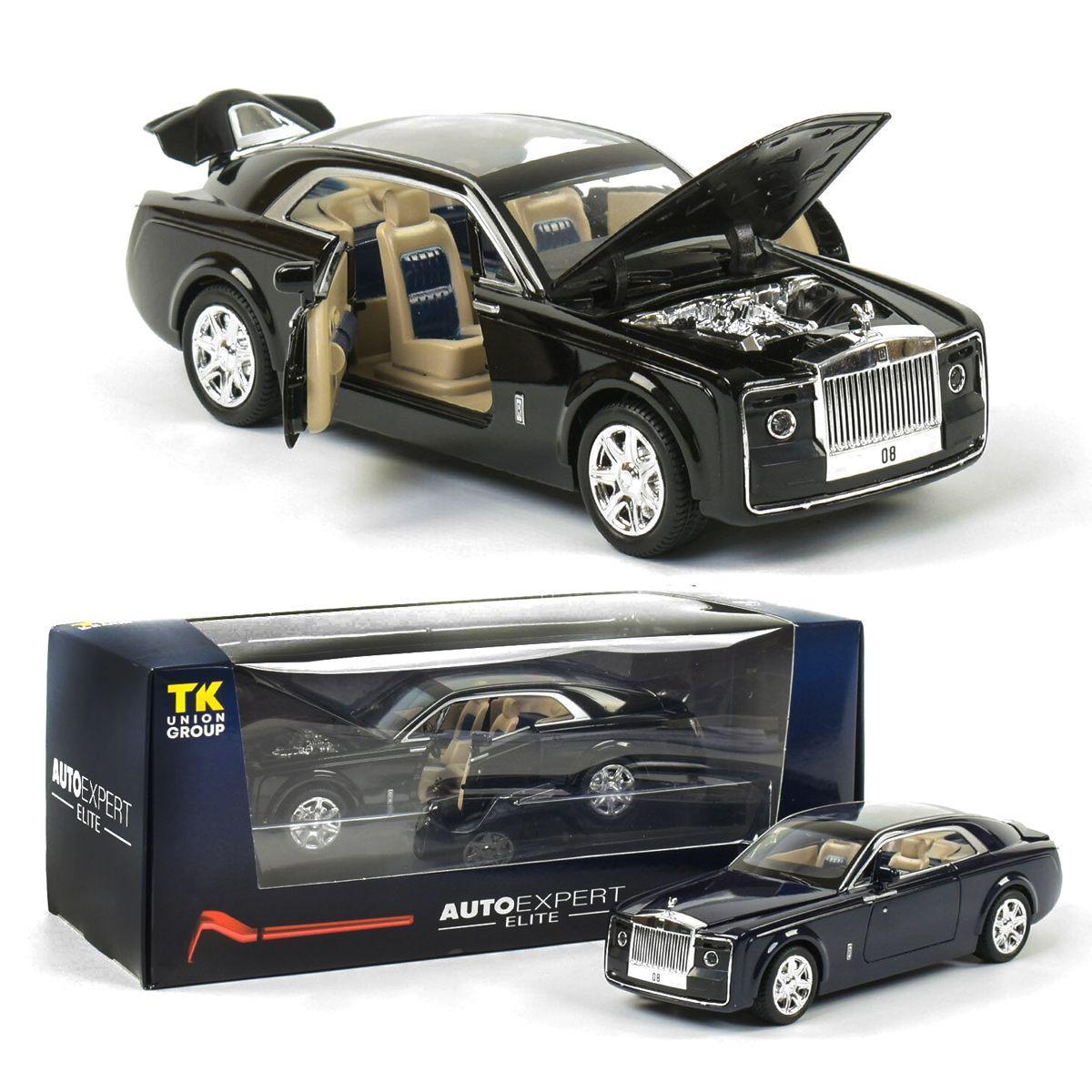 Коллекционная машина Rolls-Royce, инерционная