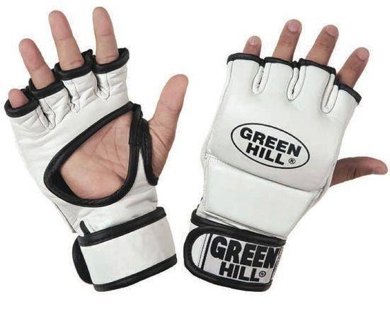 "Перчатки ММА ""MMC-0012"" Green Hill"