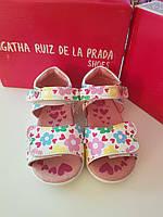 Летние сандали детские Agatha Ruiz De La Prada 21 размер кожа