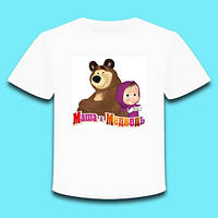 Футболка детская Маша и Медведь