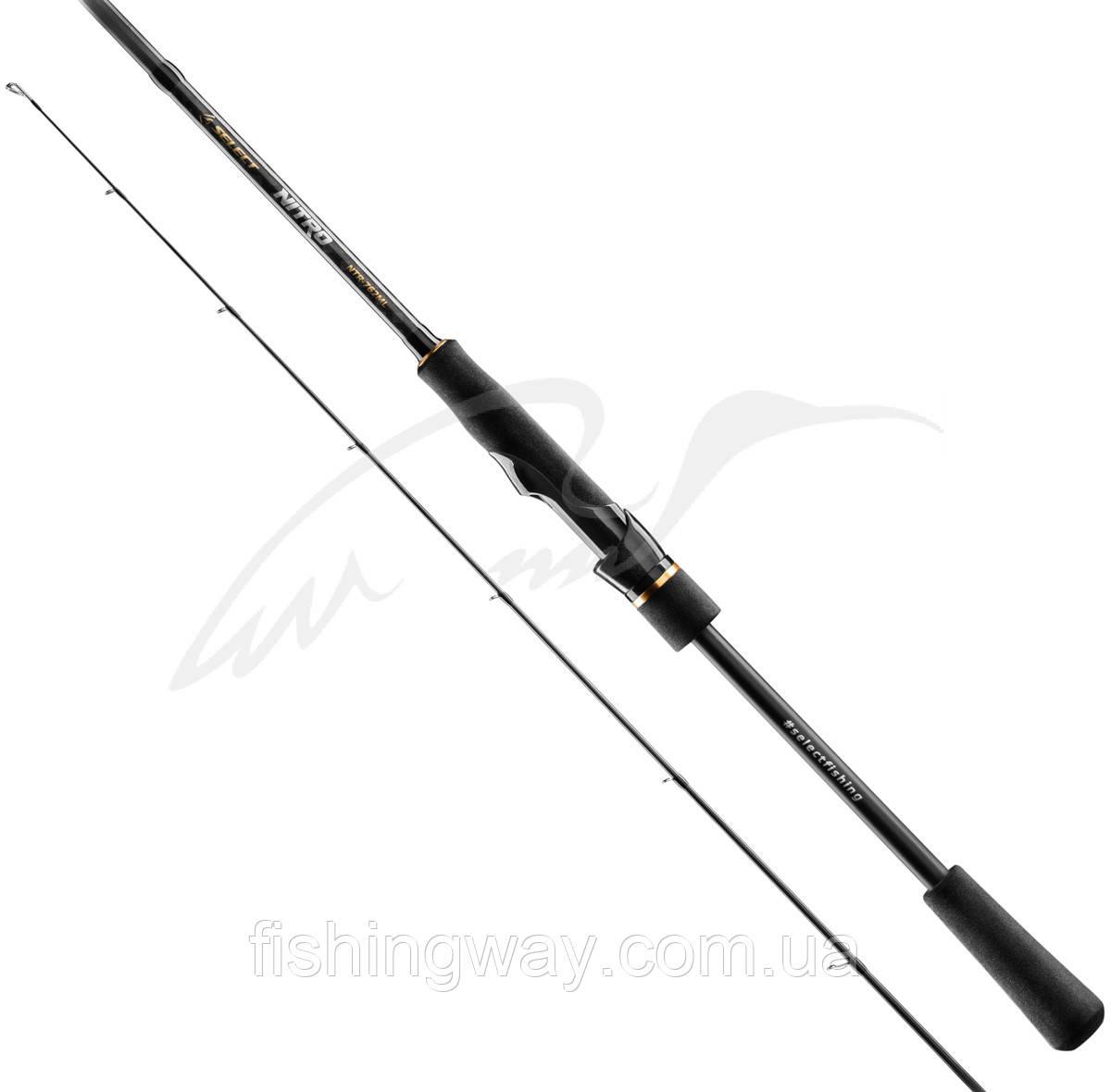 Спиннинг Select Nitro NTR-702MH 2.13m 7-28g Fast