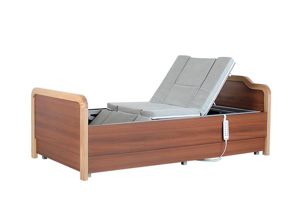 Медичне функціональне електро ліжко з туалетом і боковим переворотом Е101. Ліжко з регулюванням висоти ложа. Для інвалідів., фото 2
