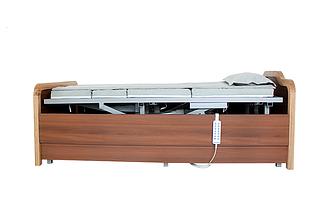 Медицинская электро кровать с туалетом и боковым переворотом MIRID E101. Кровать с регулировкой высоты., фото 3