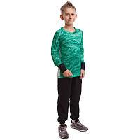 Детская форма вратарская камуфляж зеленая