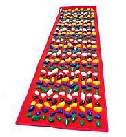 Коврик массажно-ортопедический Igora, красный, 150 х 40 см (ОХ MS-1214-2), фото 1