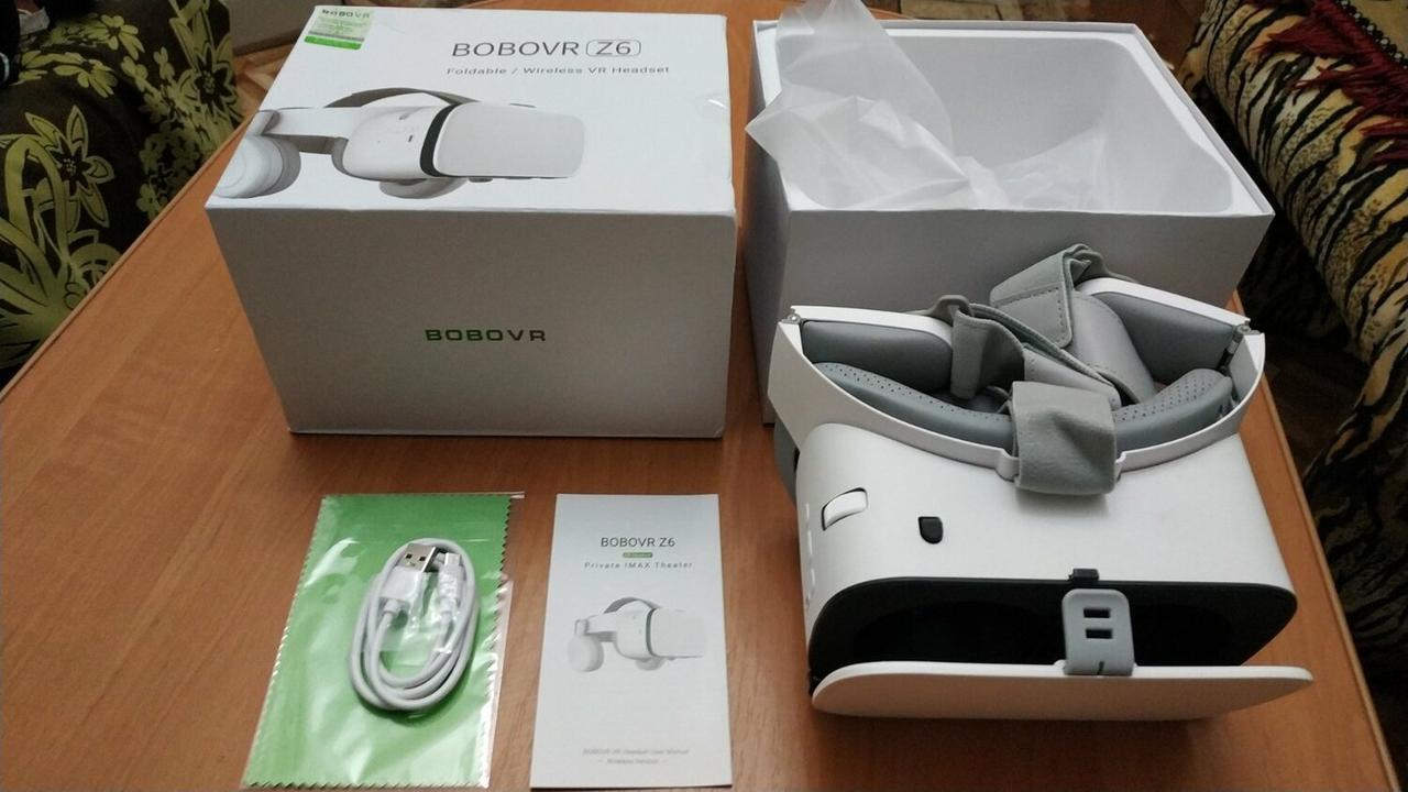 BOBOVR Z6 - очки виртуальной реальности для смартфона. Новинка 2020 года