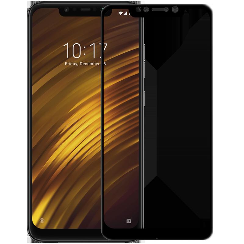Nillkin Pocophone F1 CP+ Anti-Explosion Glass Screen Protector Black Защитное Стекло