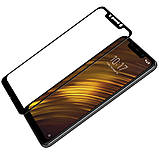 Nillkin Pocophone F1 CP+ Anti-Explosion Glass Screen Protector Black Защитное Стекло, фото 3