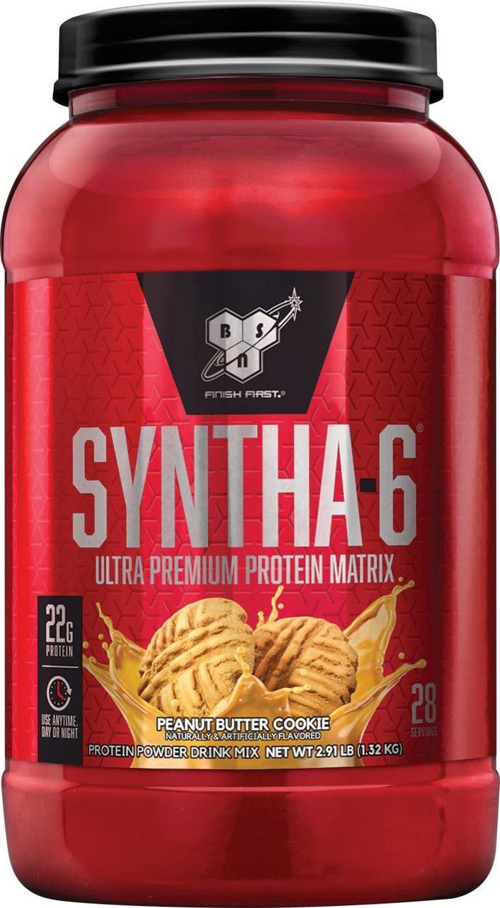 Комплексный протеин BSN Syntha-6 (1,32 кг) синта 6 бсн соленая карамель