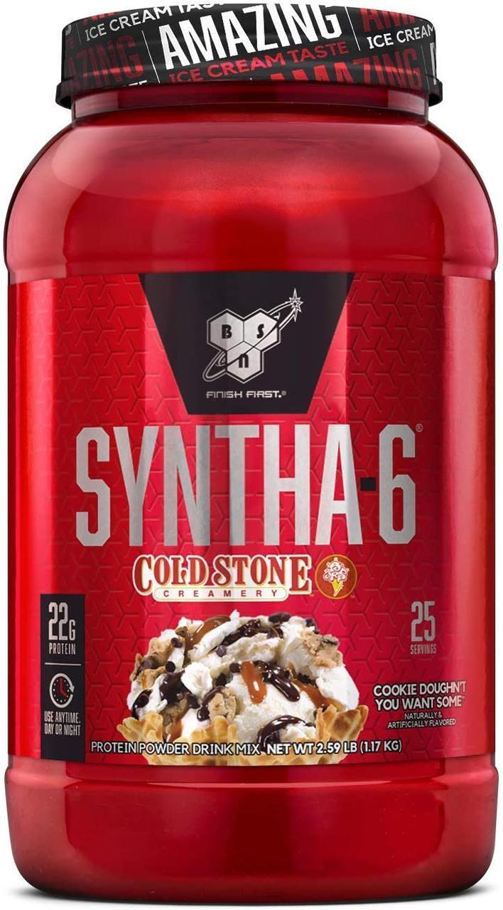 Комплексный протеин BSN Syntha-6 Cold Stone (1,17 кг) бсн синта 6 колд печенье