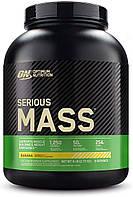 Гейнер для набора массы Optimum Nutrition Serious Mass (2,72 кг) оптимум нутришн сириус масс banana