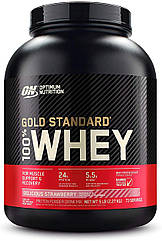 Сывороточный протеин изолят Optimum Nutrition 100% Whey Gold Standard (2.3 кг) оптимум вей голд стандарт delicious strawberry