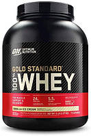 Сывороточный протеин изолят Optimum Nutrition 100% Whey Gold Standard (2.3 кг) оптимум вей голд стандарт vanilla ice cream