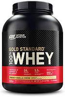 Сывороточный протеин изолят Optimum Nutrition 100% Whey Gold Standard (2.3 кг) оптимум вей голд стандарт french vanilla