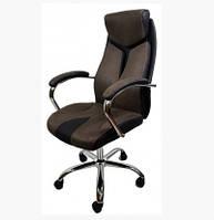 Кресло офисное компьютерное THOR C206 коричневое