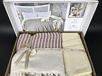 Постельное белье с пледом летний набор Favotite Турция