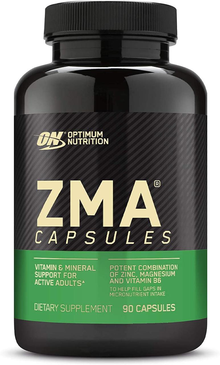 Бустер тестостерона Optimum Nutrition ZMA (90 капс) зма оптимум нутришн