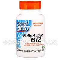 "Витамин B-12 (метилкобаламин) ""Doctor`s Best"" 1500 мкг 60 капсул"
