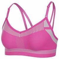 Топик женский Nike FLYKNIT INDY BRA розовый AQ0160-686