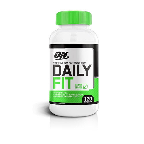 Жиросжигатель Optimum Nutrition Daily Fit (120 капс) оптимум нутришн