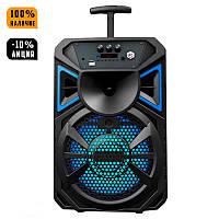 Беспроводная портативная Bluetooth колонка чемодан AILIANG LIGE 1711 радио бумбокс Speaker USB 1800mA, фото 1