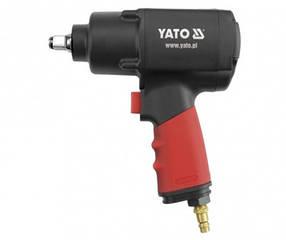 Ударный пневматический гайковерт YATO 1/2 1356Nm YT-0953