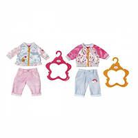 Набор одежды для куклы BABY BORN - СПОРТИВНИЙ КЭЖУАЛ (2 в ассорт.) Zapf 824542