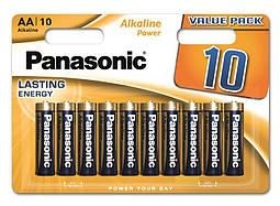Батарейки Panasonic Alkaline Power AA 10 шт