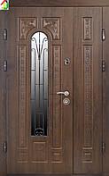 Дверь входная Министерство дверей металл/МДФ ПК-139+ V Дуб темный Vintorit двери бронированные, для дома
