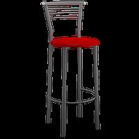 Стул барный Марко Хокер Alum кожзам красный для кухни, бара, летней площадки