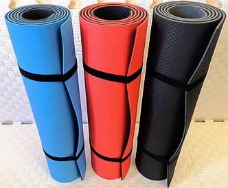 """Нервущийся очень плотный йога - коврик (йога-мат) """"Eva-Sport"""" для занятий йогой,фитнесом,пилатесом."""