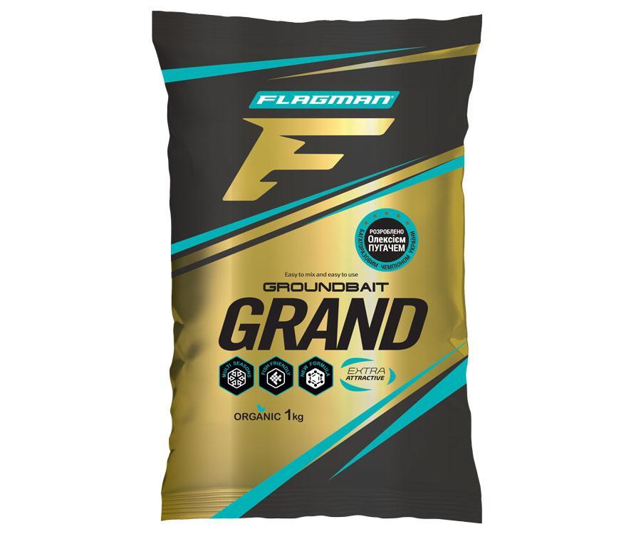 Прикормка Flagman 1kg Grand Roach Black (PRF835)