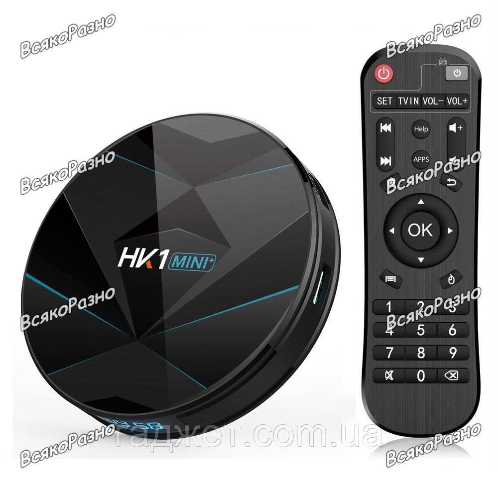 Android TV приставка HK1 mini plus 4/32 GB. Смарт приставка