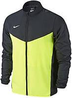 Ветровка подростковая Nike TEAM PERFORMANCE SHIELD JACKET черно-салатовая