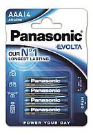 Батарейки Panasonic Evolta AAA 4 шт
