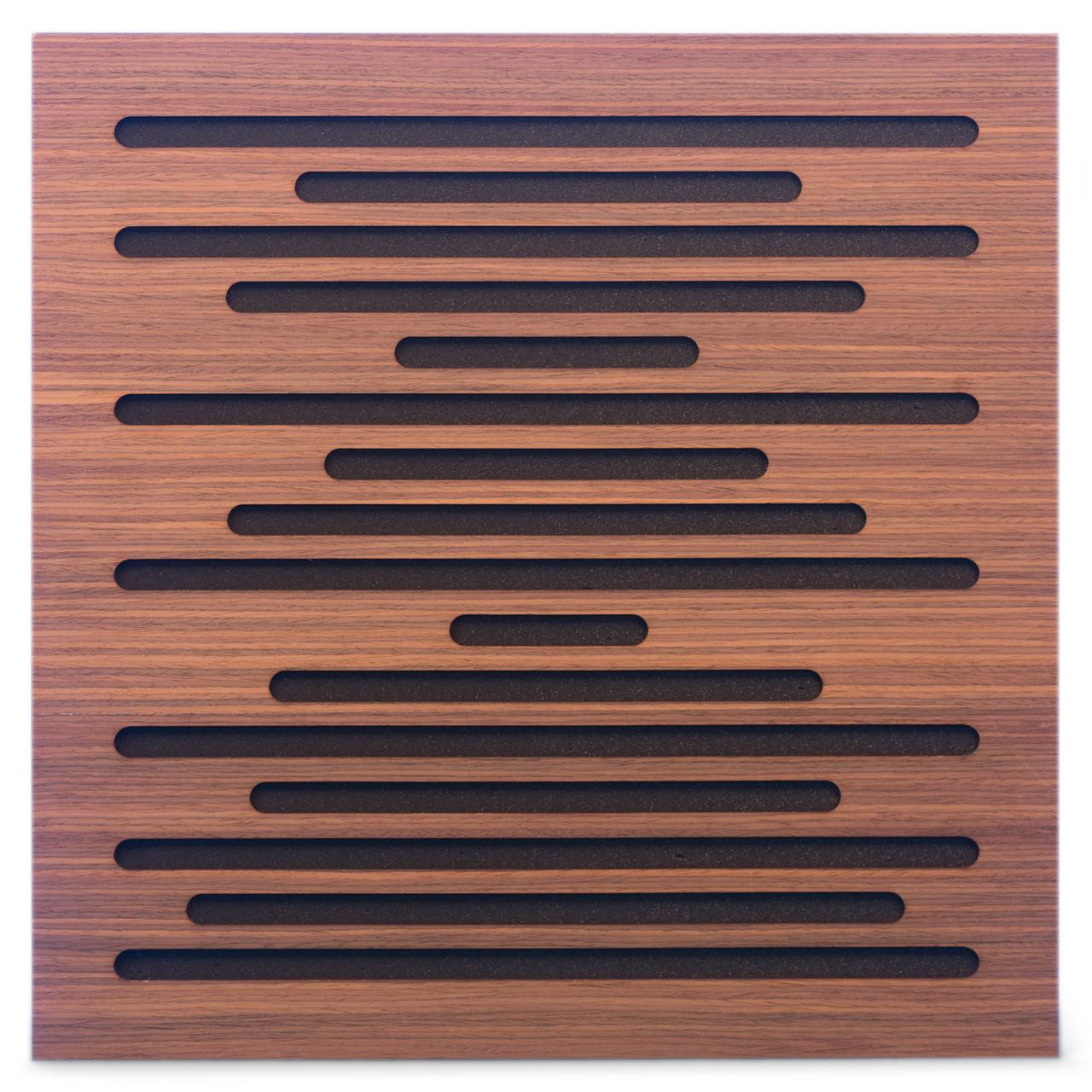 Акустическая панель Ecosound EcoWave Rosewood 50x50см 73мм цвет коричневый