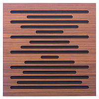 Акустическая панель Ecosound EcoWave Rosewood 50x50см 73мм цвет коричневый, фото 1