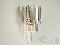 Современный хрустальный настенный светильник6481-1CF